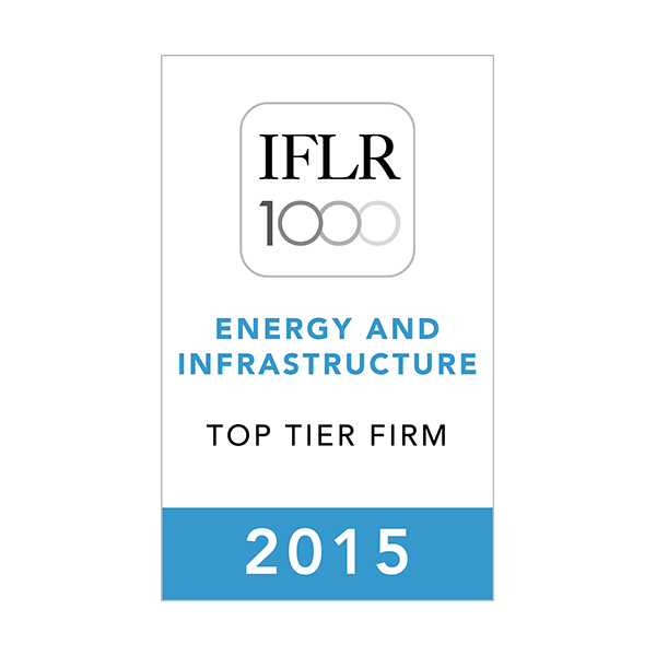 5-IFLR-Energy-Infrastructure-2015-Top-Tier-Firm-Rosette